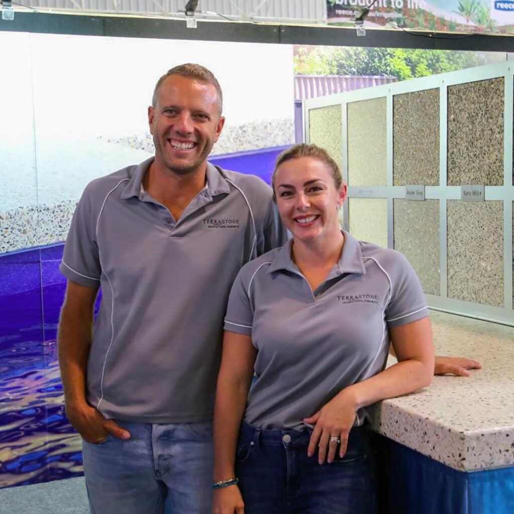 Adam and Sheryl of Terrastone Architectural Concrete