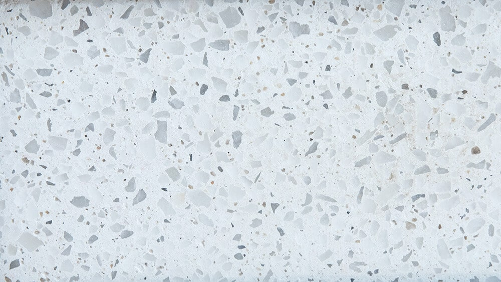 Swatch of Crystal honed concrete
